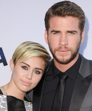 """Liam Hemsworth Snaps Photo with """"Little Angel"""" Miley Cyrus"""