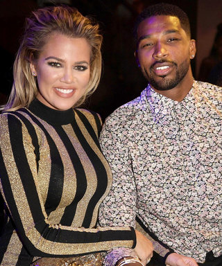 Khloé Kardashian and Tristan Thompson Get Their Sweat On Together