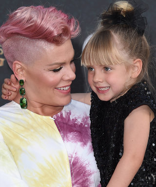 Pink and Her Daughter Wore Matching Floral Outfits and We Can't Even