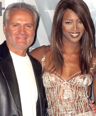 Naomi Campbell's Celebrates the Late Gianni Versace with Epic Throwback