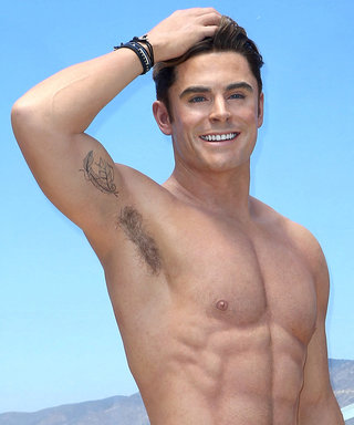 Zac Efron's Baywatch Wax Figure Memorializes Every Glorious Ab Muscle
