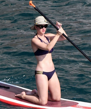 Bikini-Clad Katy Perry Goes Paddle Boarding in Italy—Sans Naked Orlando Bloom