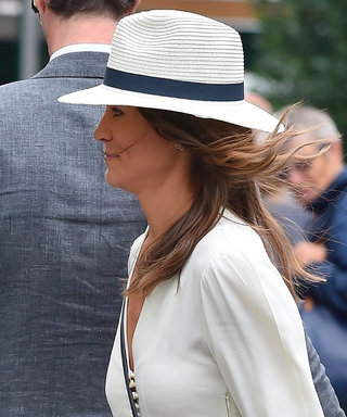 Pippa Middleton Wears a $294 Wimbledon White Dress to the Semifinals