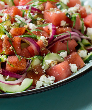 This Refreshing Watermelon and Feta Salad Will Cool You Down This Summer