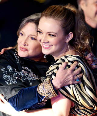 Billie Lourd Honors Mom Carrie Fisher with Matching Tattoo on Her Birthday — See a Side-By-Side