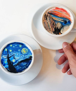This Korean Man Makes The Ultimate #LatteArt of All Latte Arts
