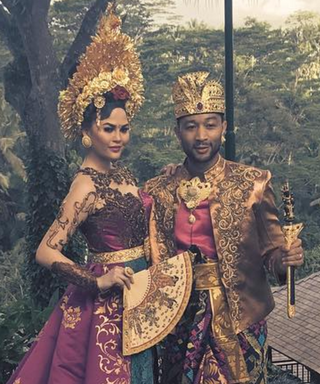 Chrissy Teigen and John Legend Adapt as Balinese Locals While on Vacationwith Baby Luna