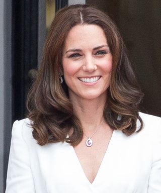Kate Middleton Begins Her Royal Tour of Poland in White Alexander McQueen
