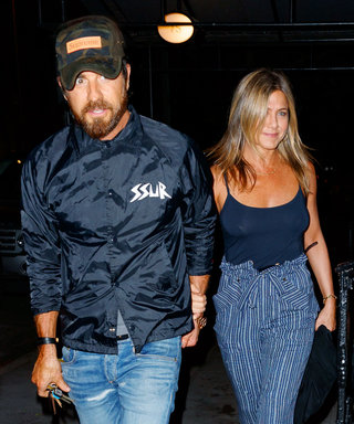 Jennifer Aniston and Justin Theroux Totally Matched for Date Night