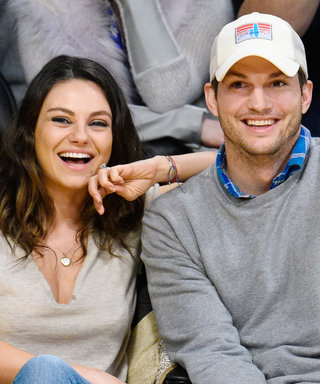 Mila Kunis and Ashton Kutcher's Adorable Kids Attend a Diving Competition