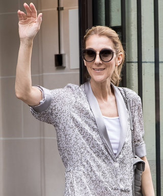 Yes, Celine Dion Just Stepped Out in a Fully Sequined Silver Jumpsuit