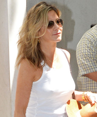 Jennifer Aniston and Justin Theroux Are Adorably Matchy in N.Y.C.