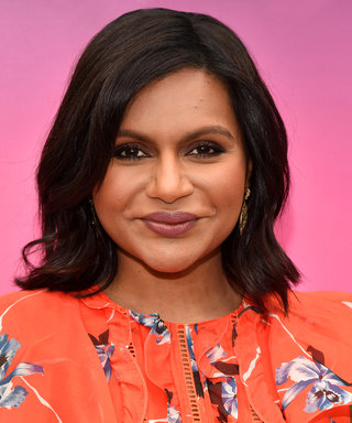 Mindy Kaling Expertly Balances Her Baby Bump with Statement Sleeves