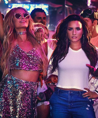 """Paris Hilton and Jamie Foxx Party in Demi Lovato's """"Sorry Not Sorry"""" Video"""