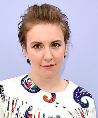 Lena Dunham Hits Back at the Haters with a Selfie in a Latex Bodysuit and Crystal Crown