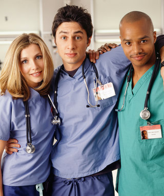 "This Scrubs Trio Reunited for ""Steak Night""—See the Photos"