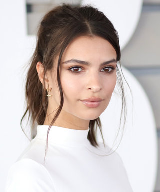 Emily Ratajkowski Goes Completely Naked for Black-and-White Photo Shoot
