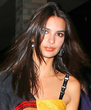 We're Seriously in Love With Emily Ratajkowski's Night out Look