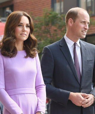 Kate Middleton Looks Flawless in Lavender While Boarding a Hamburg-Bound Train