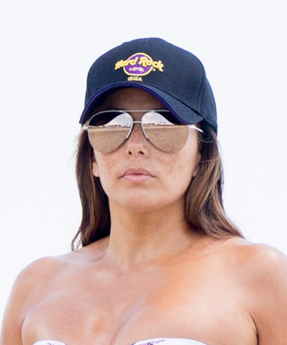 Eva Longoria Dons Yet Another Tiny Bikini in Spain