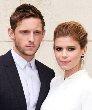 Kate Mara and Jamie Bell Flash Their Wedding Rings as They Twin in Chambray