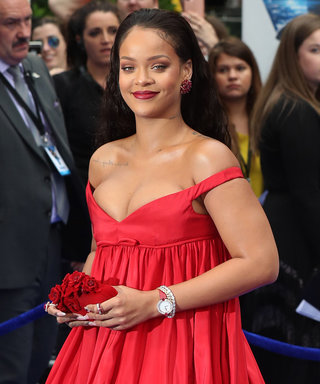 Rihanna Embodies the Dancing Lady Emoji in Couture at Valerian's London Premiere