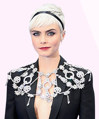 Cara Delevingne Wore a Diamond Spiderweb and It Was Perfect