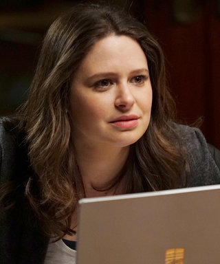 Scandal's Katie Lowes Shows Off Her Baby Bump on Set