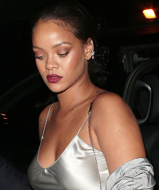 Rihanna's Sexy Slip Dress Is an After-Party Look Fit for a Princess