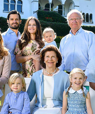 The Swedish Royal Family Released the Cutest Color-Coordinated Summer Photo