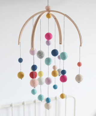 9 Beautiful Handmade Baby Mobiles From Etsy