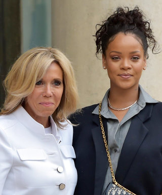 Rihanna and First Lady of France Brigitte Macron Met in 2 Incredibly Different Outfits