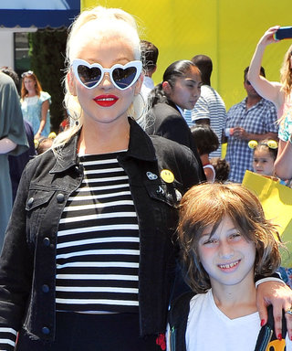 Christina Aguilera's 9-Year-Old Son Max Fills in for Her During Rehearsal, Crushes It