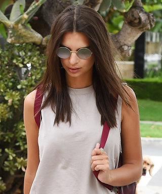 Emily Ratajkowski Shows Us How to Turn a $37 Top Into a Cool Little Dress