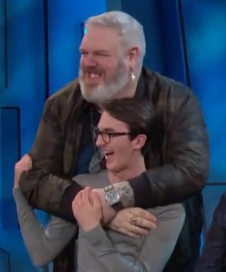 Watch Bran Stark and Hodor Have an Adorable Game of Thrones Reunion