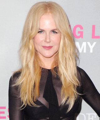 Nicole Kidman Continues Her Bold Style Streak in a Revealing Sheer Shirt