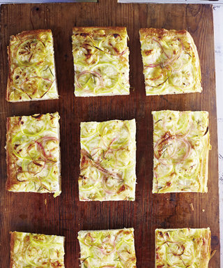 Ditch The Delivery And Make This Zesty Lemon, Pecorino and Red Onion Focaccia Instead