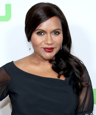 Mindy Kaling Debuted Her Baby Bump in an Elegant LBD on the Red Carpet