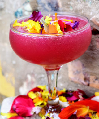This Floral Cocktail is Almost too Pretty to Drink