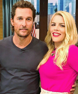 Matthew McConaughey Totally Called Busy Philipps by the Wrong Name When They First Met