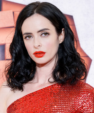 Daily Beauty Buzz: Krysten Ritter's Bold Lips and Brows
