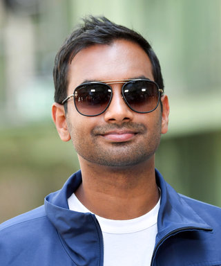 Aziz Ansari, New Master of Gucci Loafers, Has Never Looked Cooler
