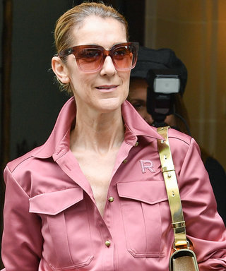 Celine Dion Is Radiant in Rose-Colored Everything