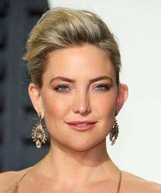 Kate Hudson Complements Her Buzz Cut with a Summery Accessory