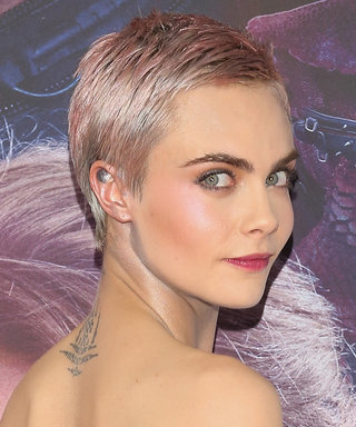 Daily Beauty Buzz: Cara Delevingne's Pink Pixie