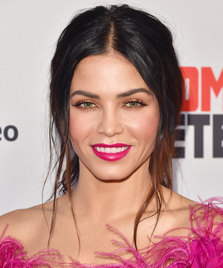 Jenna Dewan Tatum Snacks on French Fries While Wearing Couture