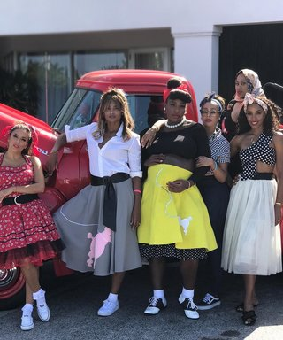 Serena Williams Had a Star-Studded '50s-Themed Baby Shower