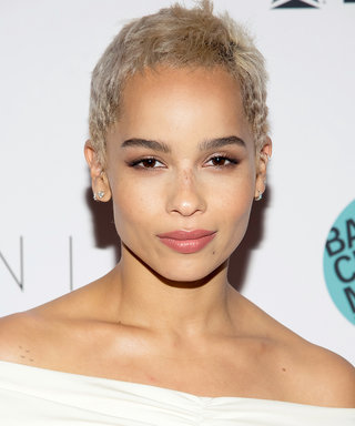 Zoë Kravitz Just Ditched Her Blonde Pixie Cut