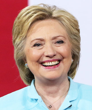 Hillary Clinton Looks Like a Modern Day Cinderella in Blue Caftan