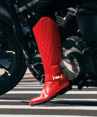 How to Wear Red Boots If You're Not a Supermodel